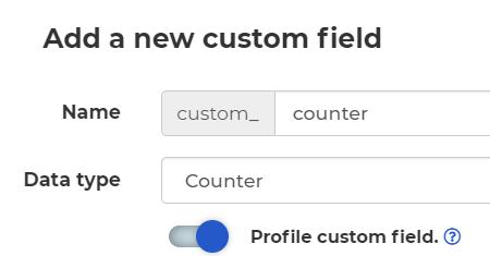 counter field
